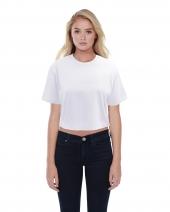 Ladies' Boyfriend Crop T-Shirt