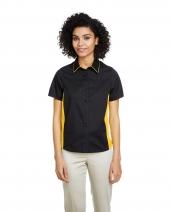 Ladies' Flash IL Colorblock Short Sleeve Shirt
