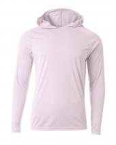 Men's Cooling Performance Long-Sleeve Hooded T-shirt