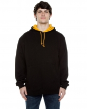 Unisex 10 oz. 80/20 Poly/Cotton Contrast Hood Sweatshirt