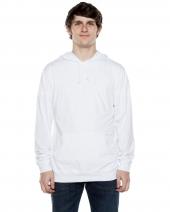 Unisex 4.5 oz. Long-Sleeve Jersey Hooded T-Shirt