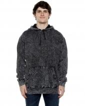 Unisex 8.25 oz. 80/20 Cotton/Poly Acid Washed Hooded Sweatshirt