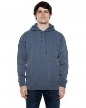Unisex 8.25 oz. 80/20 Cotton/Poly Pigment-Dyed Hooded Sweatshirt