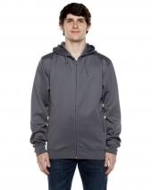 Unisex 9 oz. Polyester Air Layer Tech Full-Zip Hooded Sweatshirt