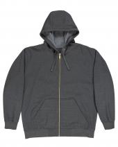 Unisex Iceberg Full-Zip Hooded Sweatshirt