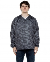 Unisex Nylon 3-Dimensional Coaches Jacket