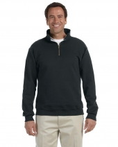 Adult 9.5 oz. Super Sweats® NuBlend® Fleece Quarter-Zip Pullover