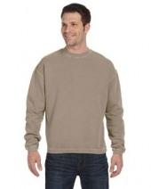 11 oz. Pigment-Dyed Ringspun Cotton Fleece Crew