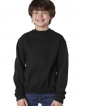 Youth 9.5 oz. Super Sweats NuBlend Fleece Crew