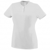 Girls Wicking Two-Button Jersey