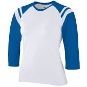 Ladies Junior Fit Cotton/Spandex Legacy Tee