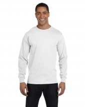 Men's 5.2 oz. ComfortSoft® Cotton Long-Sleeve T-Shirt