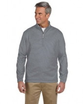 Men's Houndstooth Half-Zip Jacket