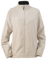 Ladies' Full-Zip Lined Wind Jacket