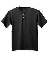 Adult Tek 2-Button Henley Jersey