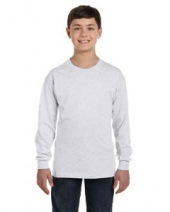 Youth 6.1 oz. Tagless® ComfortSoft Long-Sleeve T-Shirt