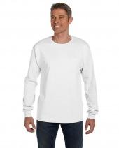 Men's 6.1 oz. Tagless® Long-Sleeve Pocket T-Shirt