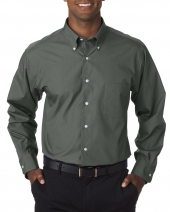 Men's Long-Sleeve Silky Poplin