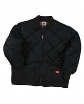 Diamond Quilted Nylon Jacket