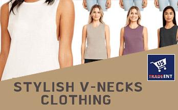 vneck-stylish